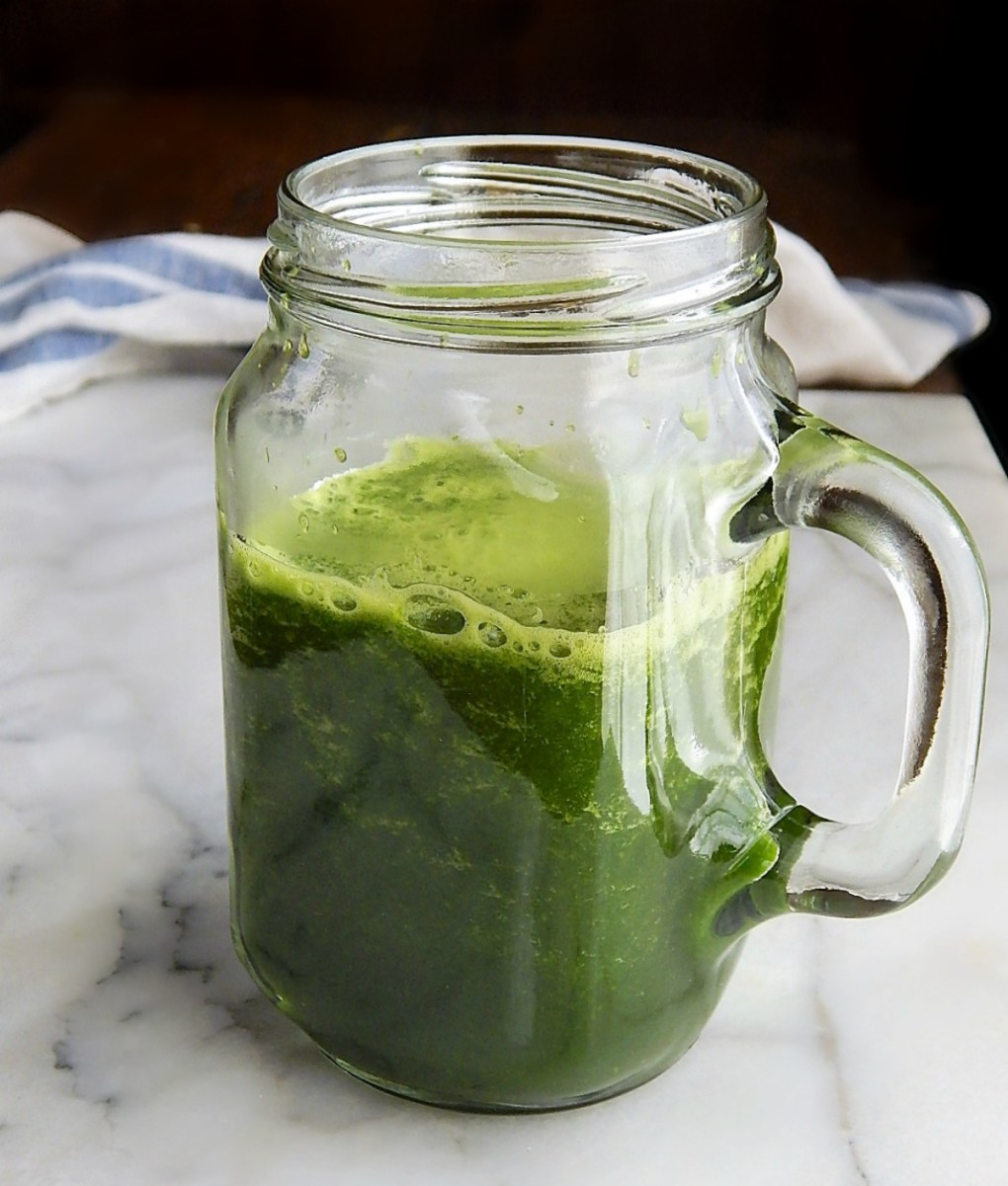 My Big Fat Green Smoothies made from wasted vegetable parts