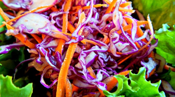 Red Cabbage Slaw, Mexican