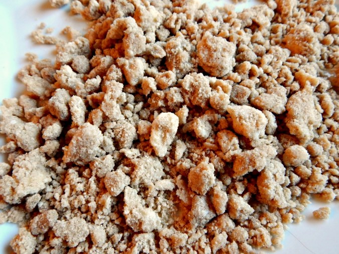 Streusel is even better frozen - double and freeze