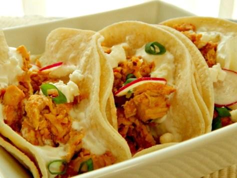 Tinga de Pollo Mexican shredded chicken, pollo deshrabo, pueblan chicken