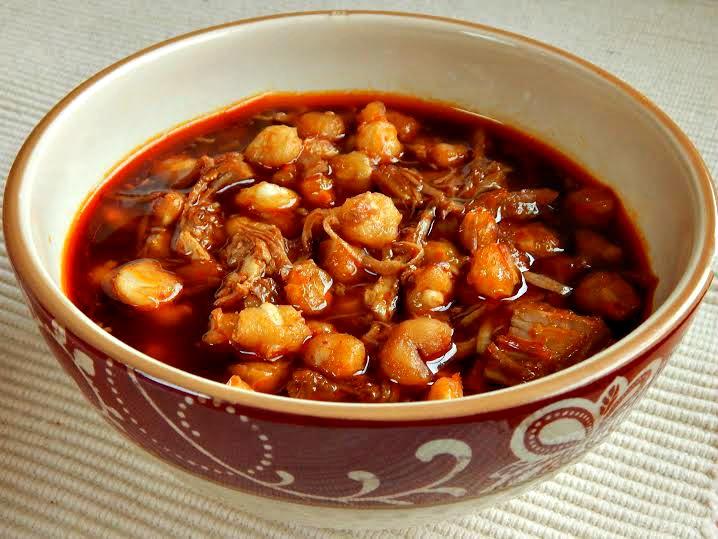 Posole or Pozole Pork Hominy Stew