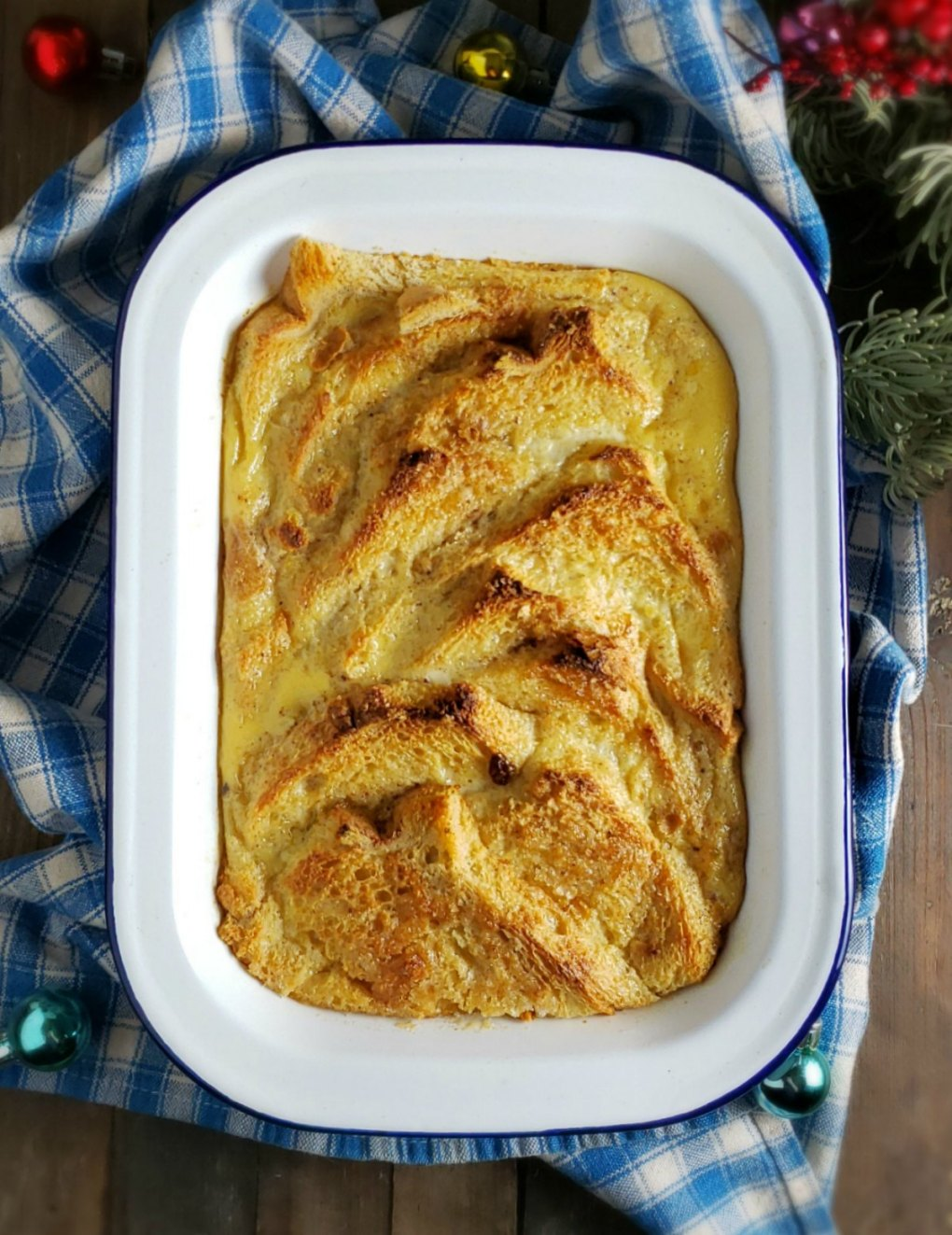 Irish Bread Pudding -Bread & Butter Pudding