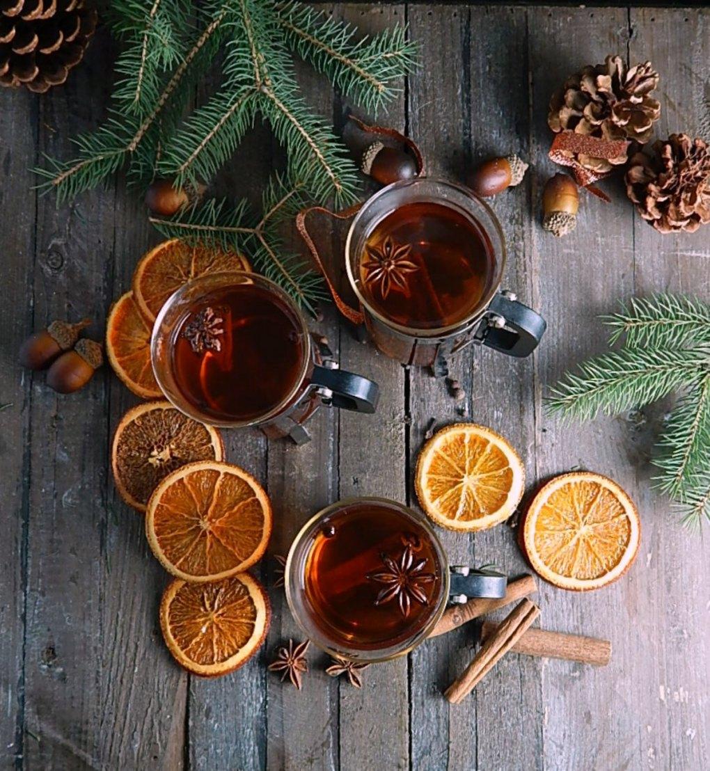 Warm Mulled Cider