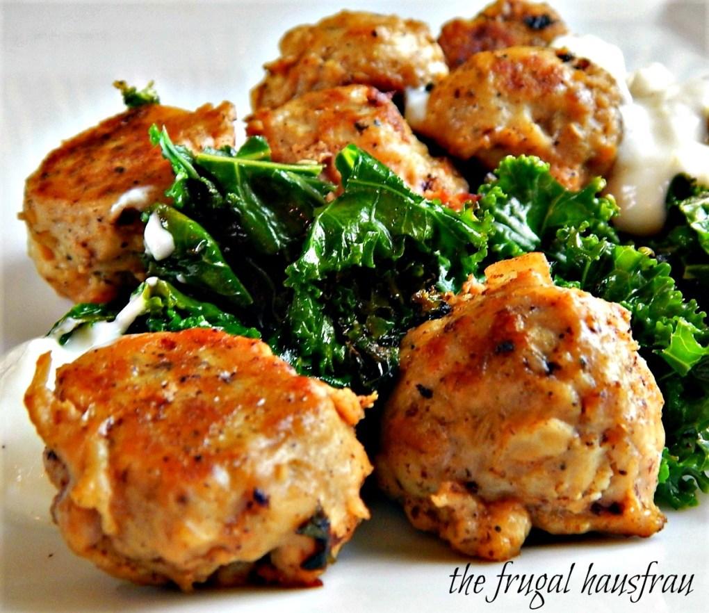 Chicken & Ricotta Meatballs
