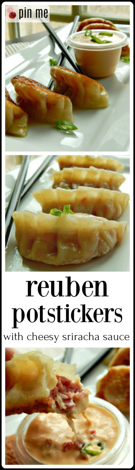 Reuben Potstickers: Well, you'll just have to try them to believe them!