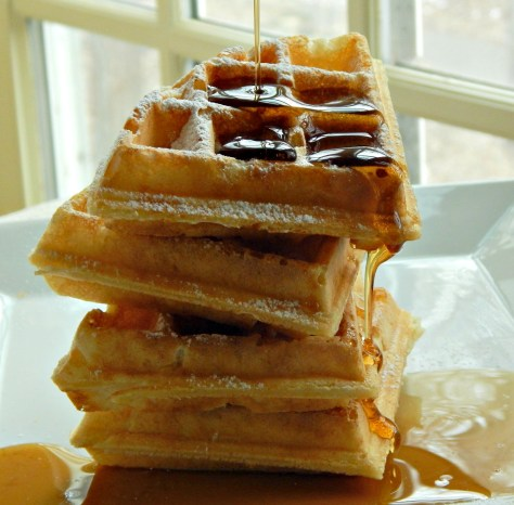 Marion Cunningham's Waffles adapted for Belgium Style