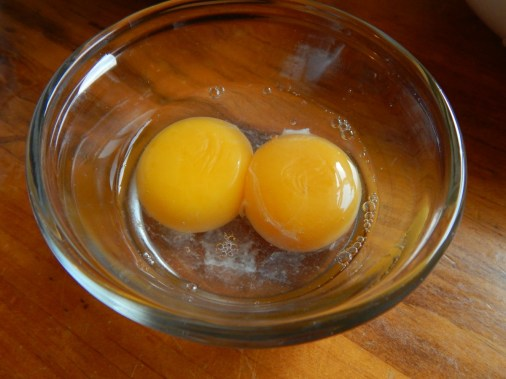 Freeze yolks & whites. If refrigerating yolk, cover with water.