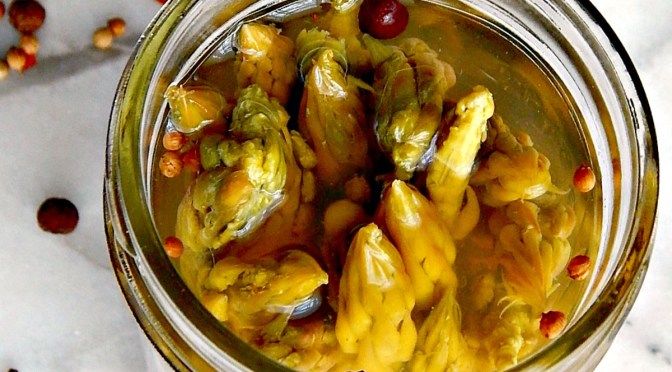 Pickled Asparagus, easy recipe, refrigerator pickle