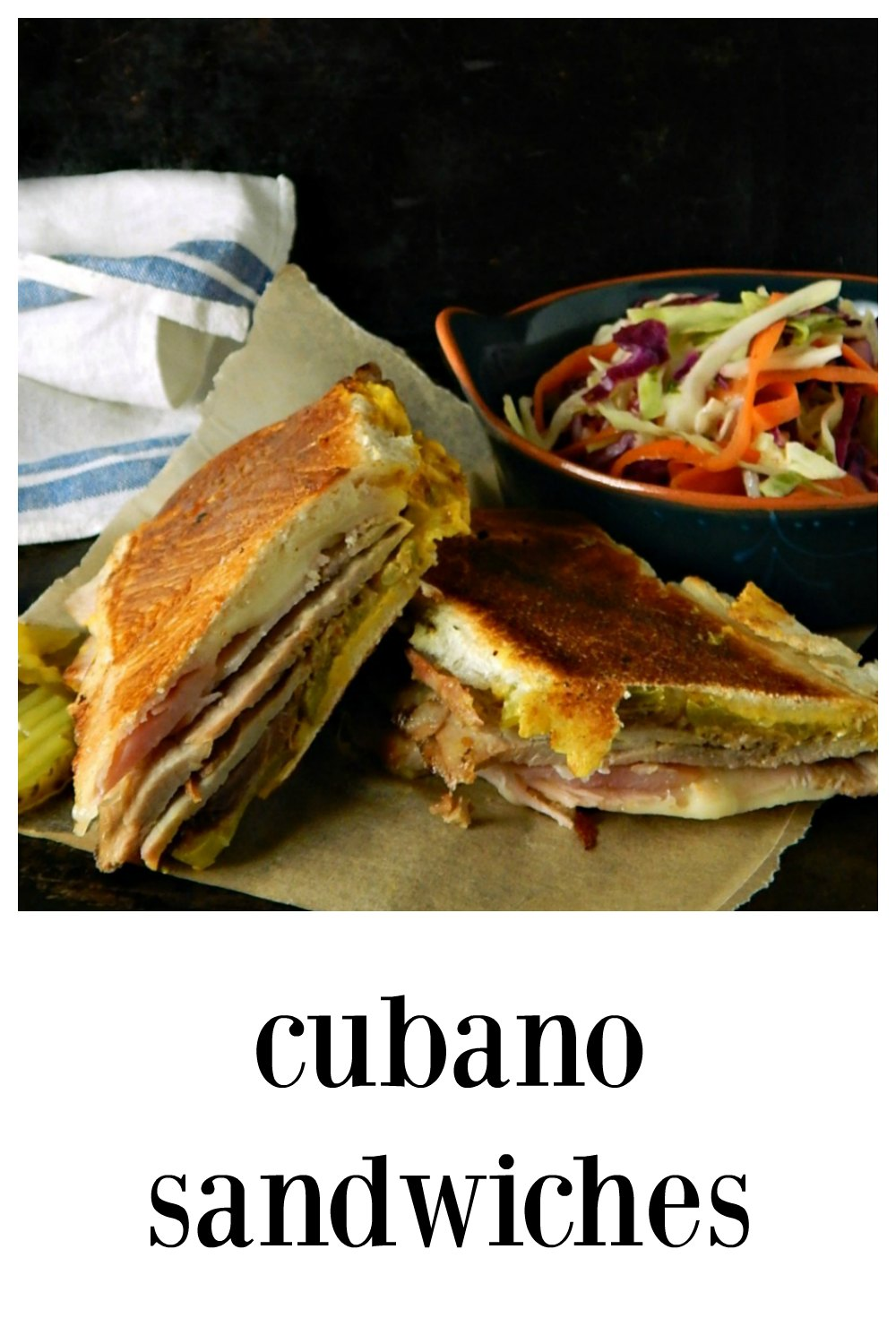 There's something magical about Cubano Cuban Sandwiches when the citrusy garlicky pork meets the salty ham, the melty cheese & toasted bread. #Cubano #Sandwiches #CubanSandwiches #CubanoSandwiches #CubanRecipes