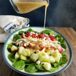 Chicken & Fruit Salad with Raspberry Dressing