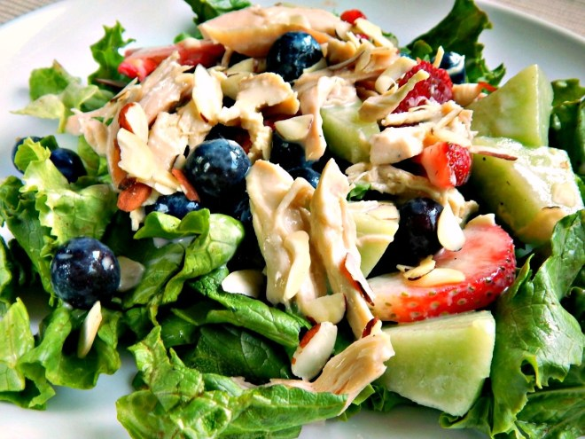 Chicken & Fruit Salad