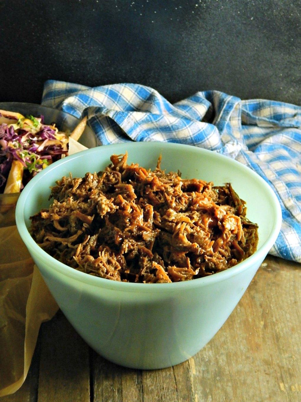 Crock Pot Slow Cooker Pulled Pork or Brisket