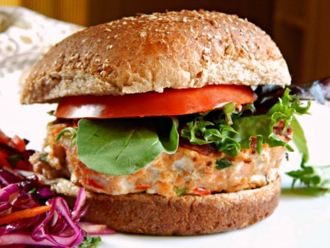 Salmon Burger healthy Marc Bittman