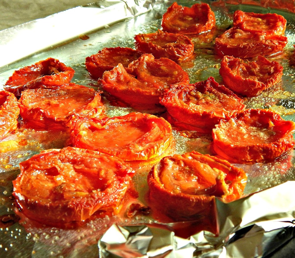 Slow-Roasted Oven Tomatoes