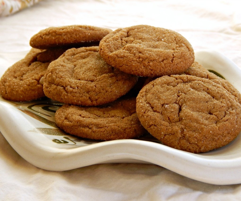 The Best Molasses Spice Cookies - soft, chewy, crispy edges. cooks illustrated