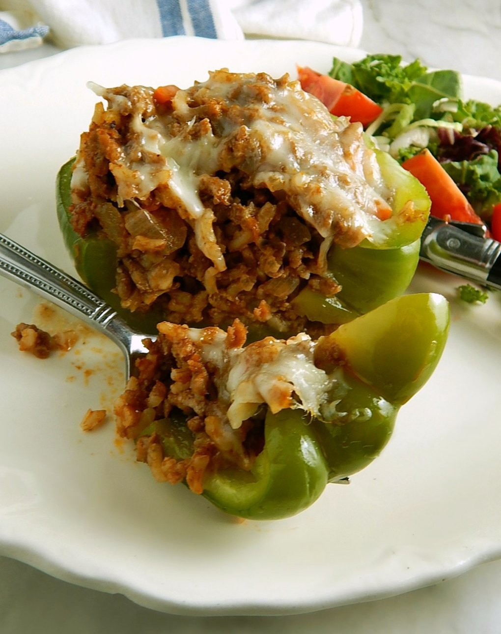 Old World Stuffed Peppers