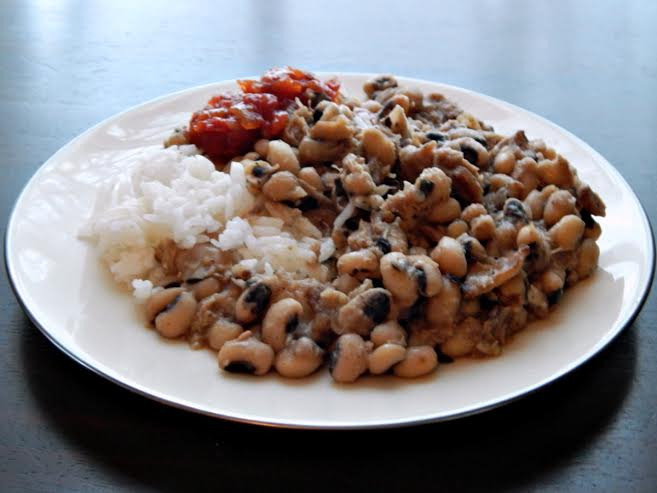 Traditional Black-Eyed Peas