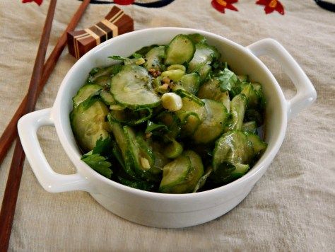 Cucumber Salad with Asian Flavors
