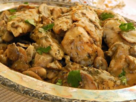 Three Herb Chicken & Mushrooms