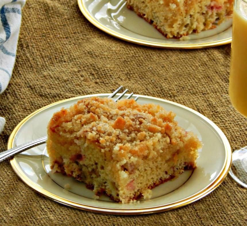 Sour Cream Coffee Cake Made From Cake Mix
