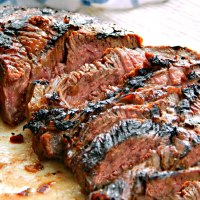 Teriyaki Marinated Steak