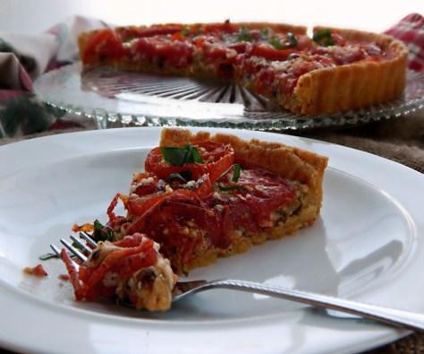 Garden Tomato Tart