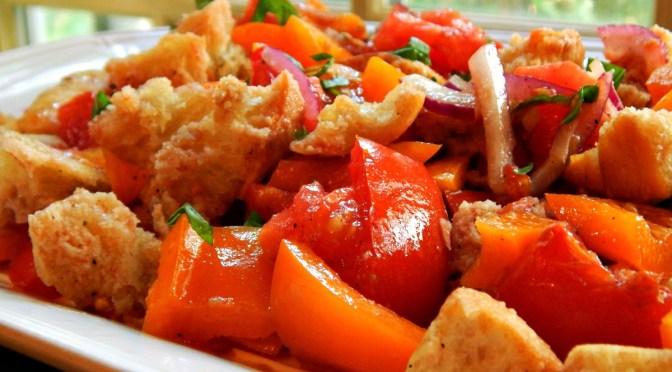 Updated Panzanella Salad