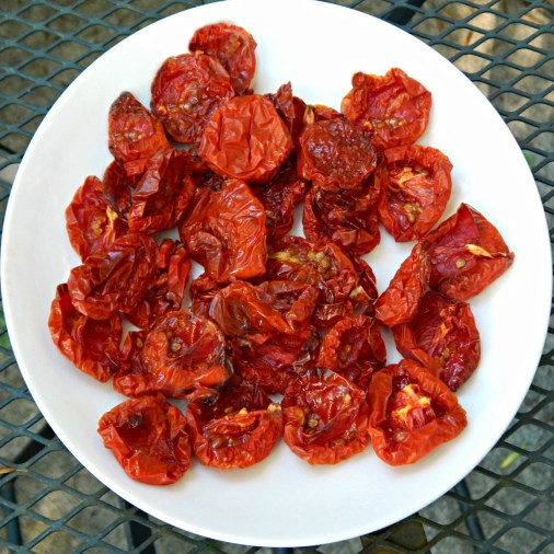 "Oven Dried ""Sun Dried"" Tomatoes"