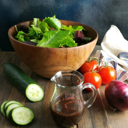 Simple Italian Balsamic Vinaigrette