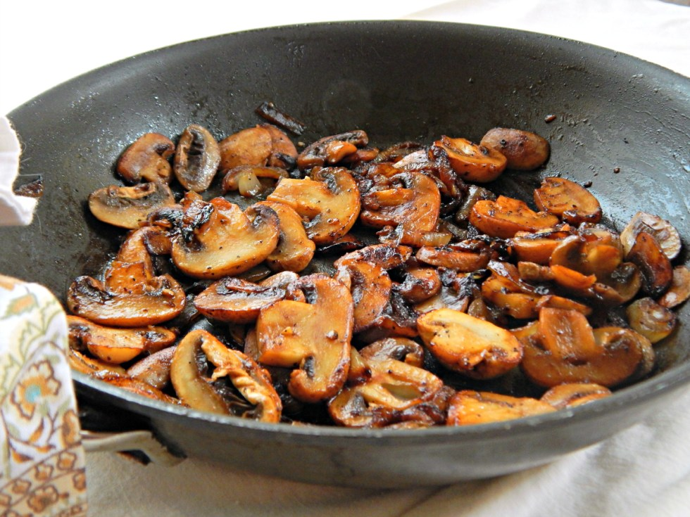 Steak House Mushrooms - so beautifully cooked & caramelized - this method is magic!