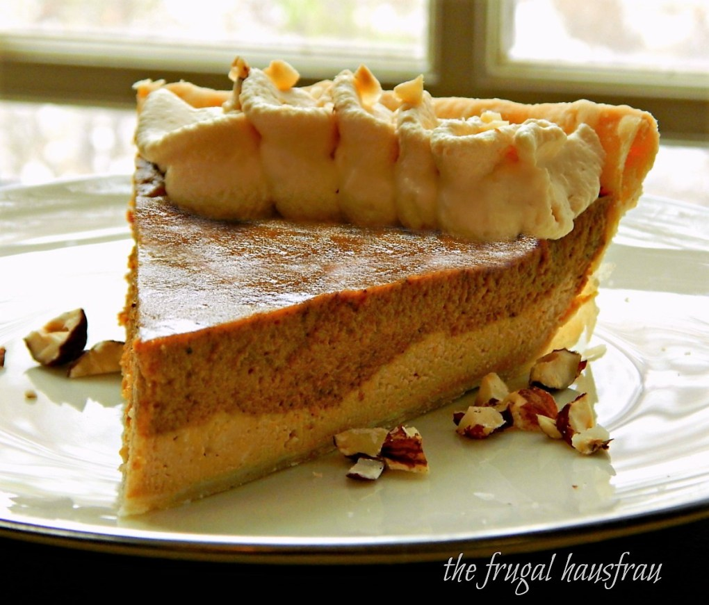 Two Layer Dulce de Leche Pumpkin Pie
