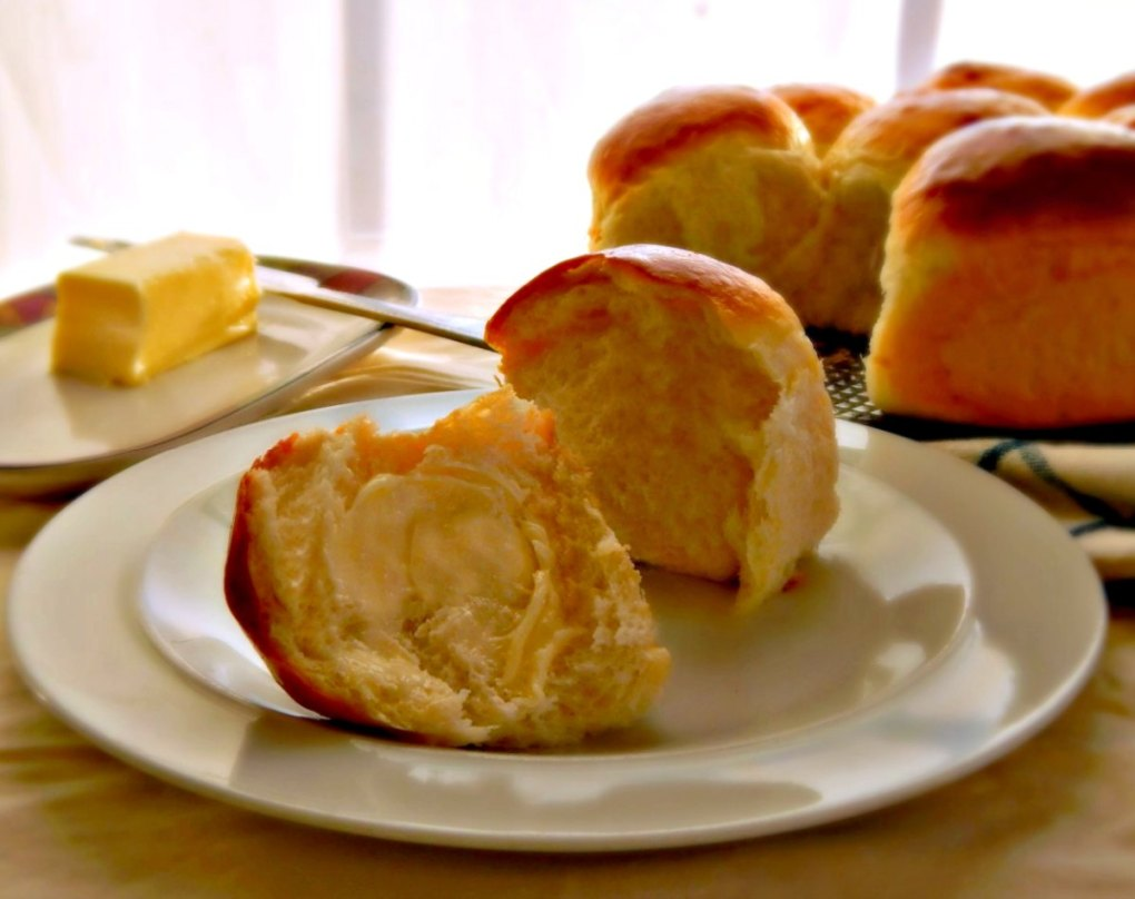 Japanese Milk Bread Dinner Rolls