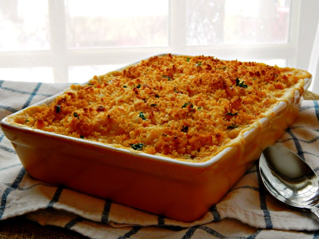 Ultimate Macaroni & Cheese with Herbed Bread Crumbs