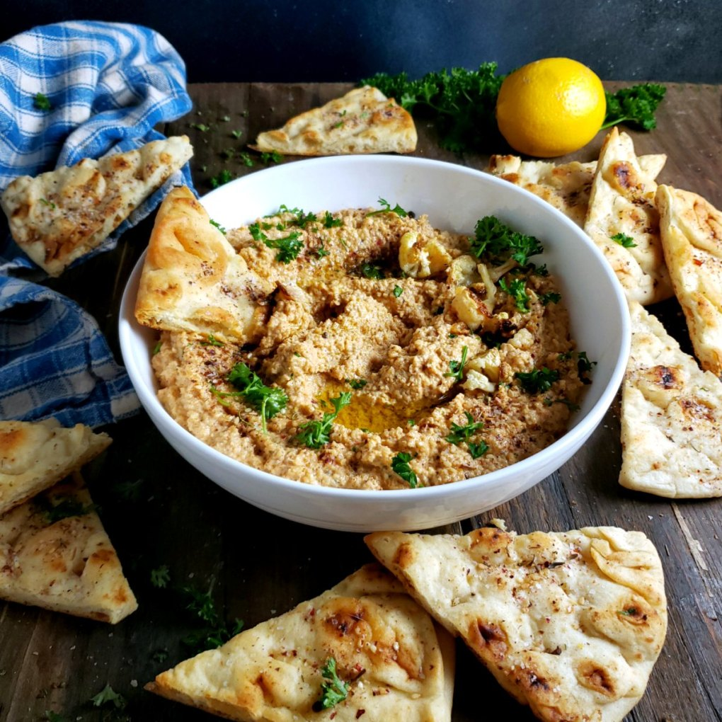 Smoky Cauliflower Hummus