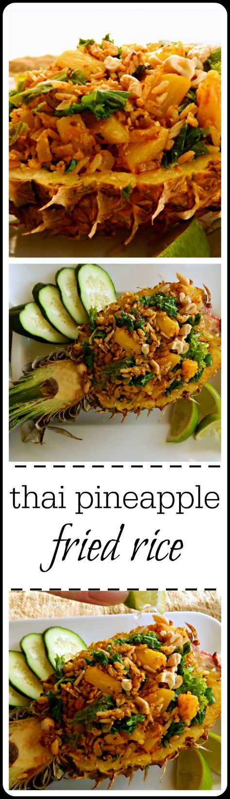 This Thai Fried Rice is pretty amazing and has a dramatic presentation!