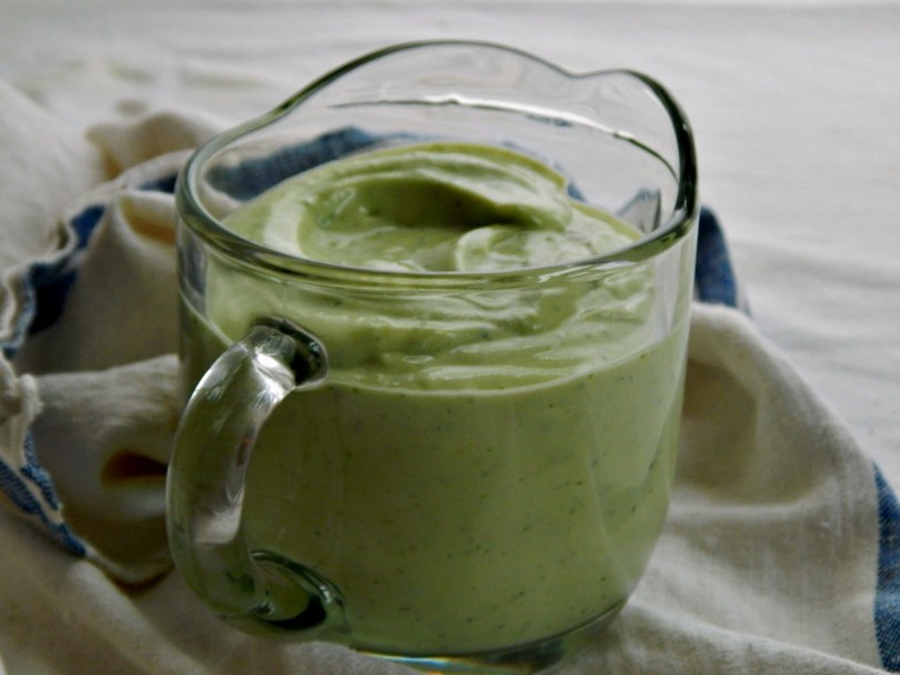 Avocado & Cilantro Lime Dressing