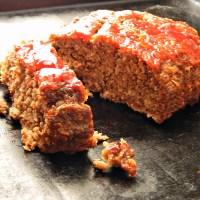 Classic Quaker Oats Meatloaf