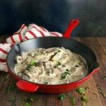 Versatile Creamy Mushroom Sauce with Wine