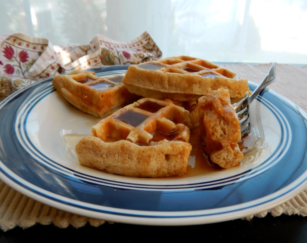 Alton Browns Really Good Waffles