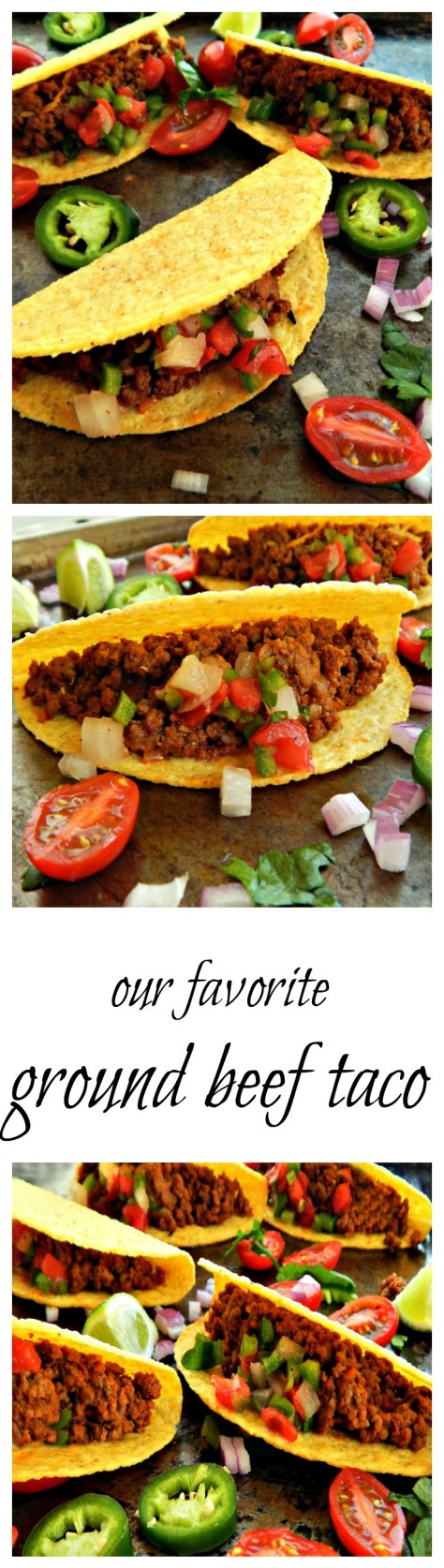 Our family's taco - make with a home-made classic seasoning or with our smokin' chipotle taco seasoning.