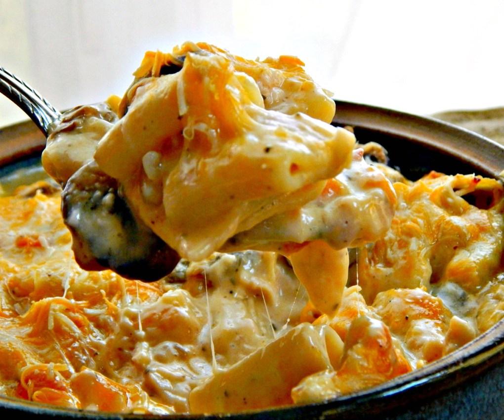 Three Cheese Chicken Casserole