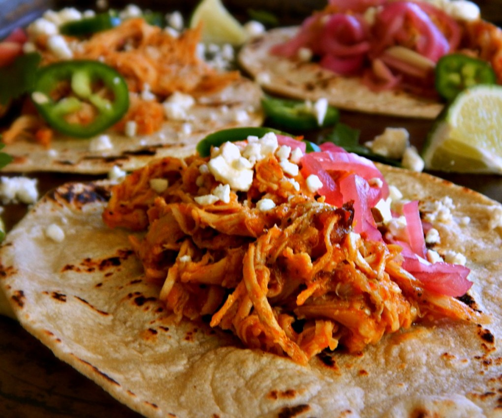 Instant Pot Chicken Tinga, Mexican Style Shredded Chicken