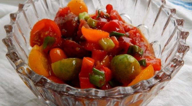 Simple Cherry Tomato Salad
