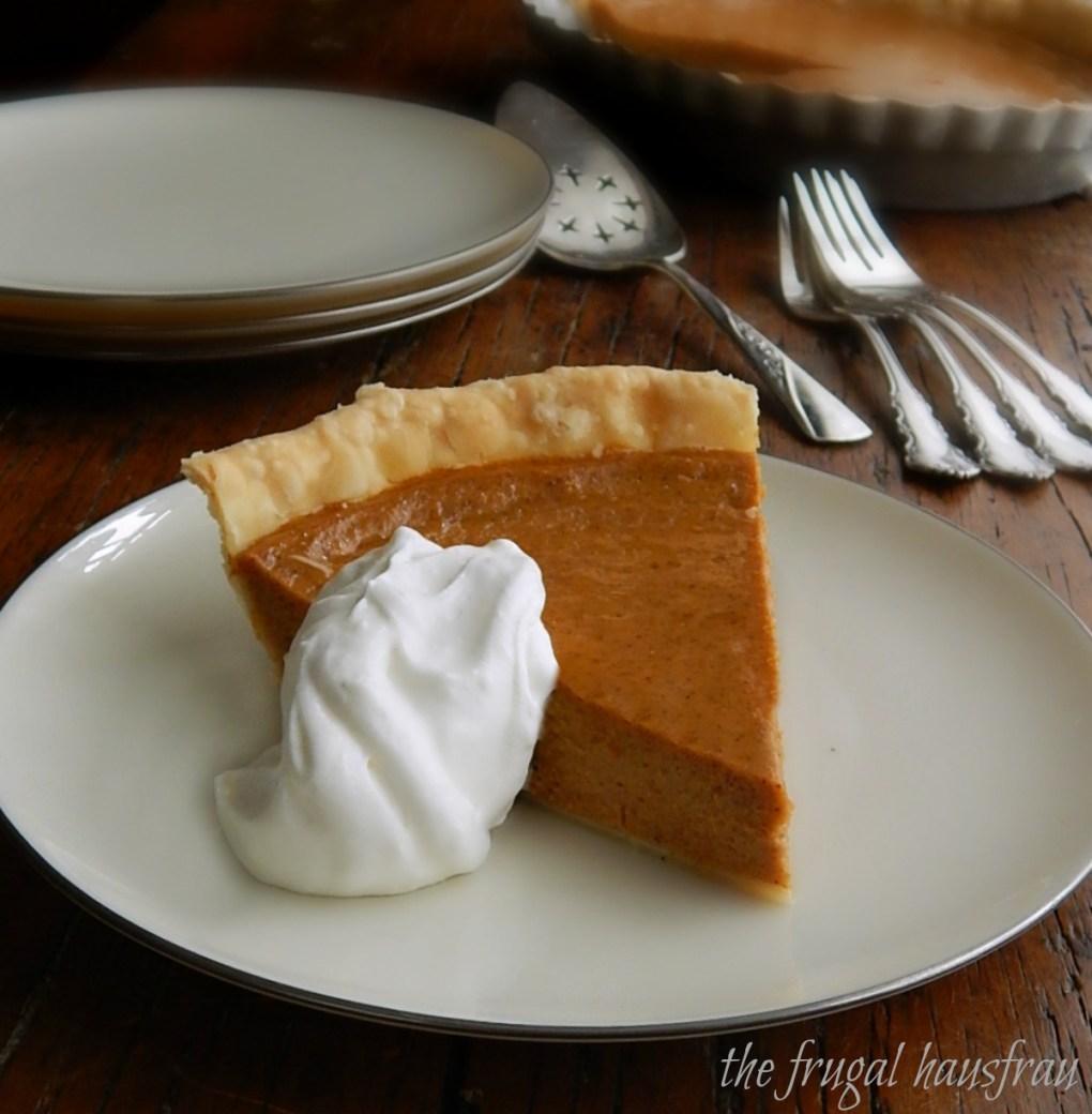 The easiest pumpkin pie - McCormick's Signature Pie