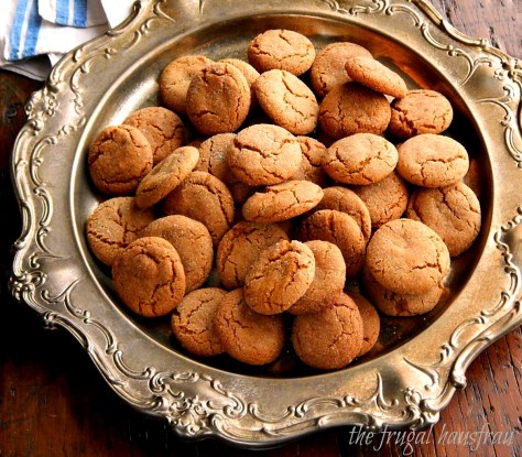 Gingersnap Cookies - perfect for the Holiday.