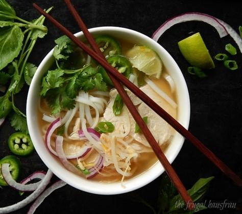 Vietnamese Chicken Noodle Soup - Pho Ga or Chicken Pho