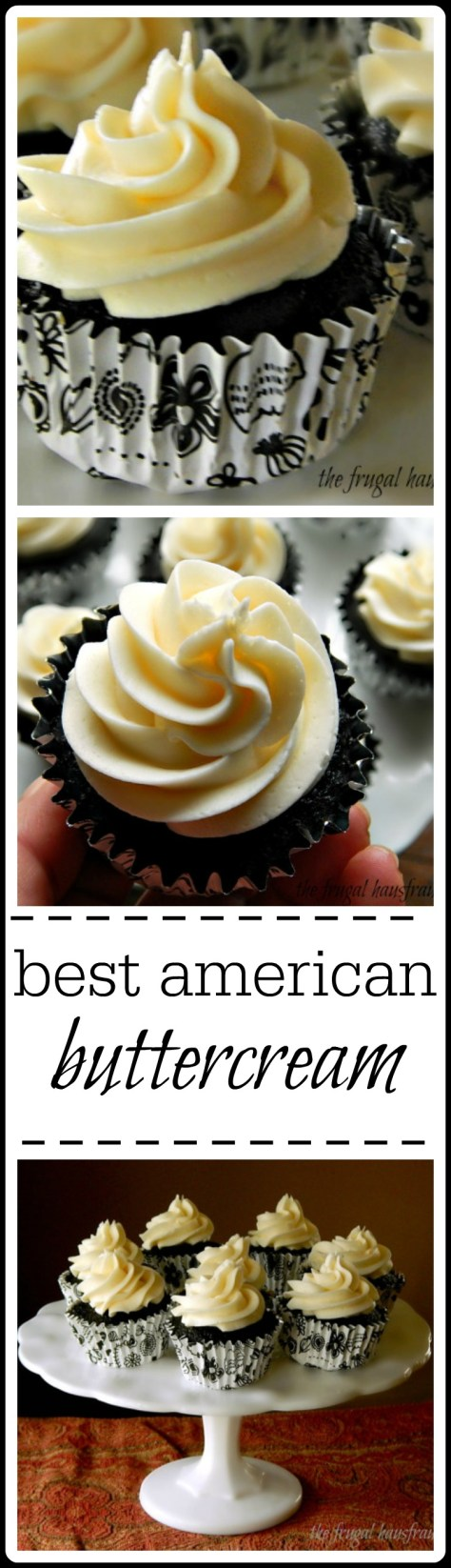 Best American buttercream - vanilla