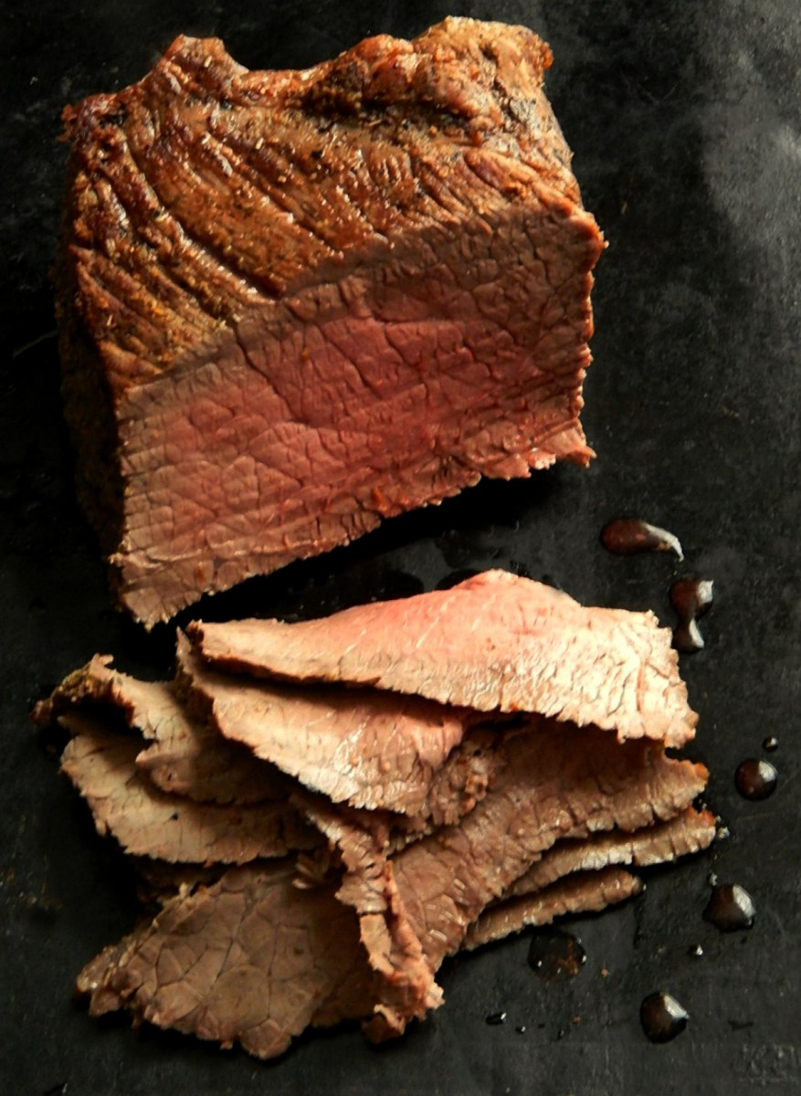 30 Minute (total time) Instant Pot Roast Medium Rare