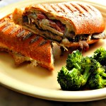 Copycat Panera White Cheddar & Steak Paninis, made from 30 minute Instant Pot Roast Beef
