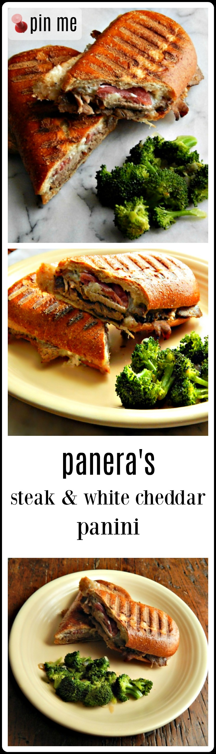 Panera Copycat Steak & White Cheddar Panini. These are great! I liked them BETTER than Paneras.n #CopycatPaneraSteak&WhiteCheddarPanini #PaneraSteakPanini #PaneraSteakandWhiteCheddar Panini